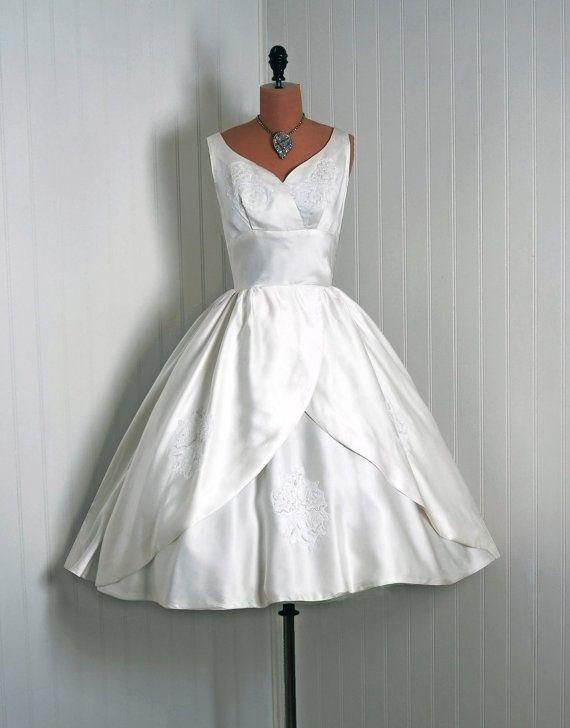 ~1950s Wedding Dress~