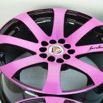 : pink scion tc rims for sale