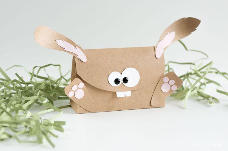 Eine Verpackung als Osterhase mit den Produkten von Stampin' Up! - Ein perfektes Geschenk zu Ostern