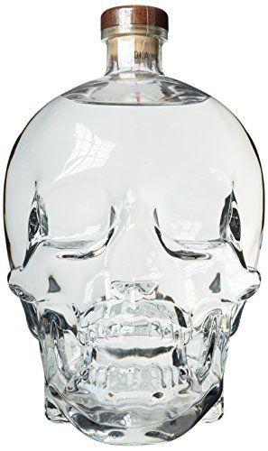 Vodka Crystal Head – Jerobam 3L: Canada Ultra Premium Distillée 5 fois et filtrée 7 fois dans des diamants de Herkimer