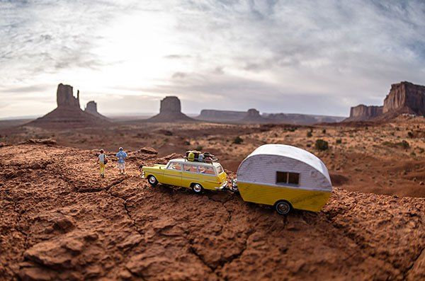 american southwest scenery | ... of Miniatures Show Off the Expansive Scenery of the American Southwest