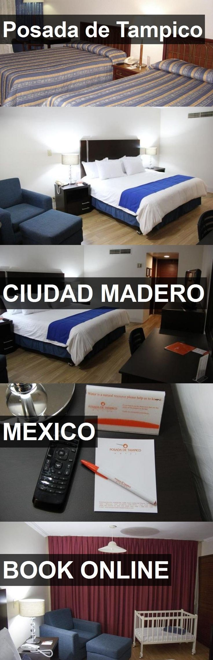 Hotel Posada de Tampico in Ciudad Madero, Mexico. For more information, photos, reviews and best prices please follow the link. #Mexico #CiudadMadero #travel #vacation #hotel