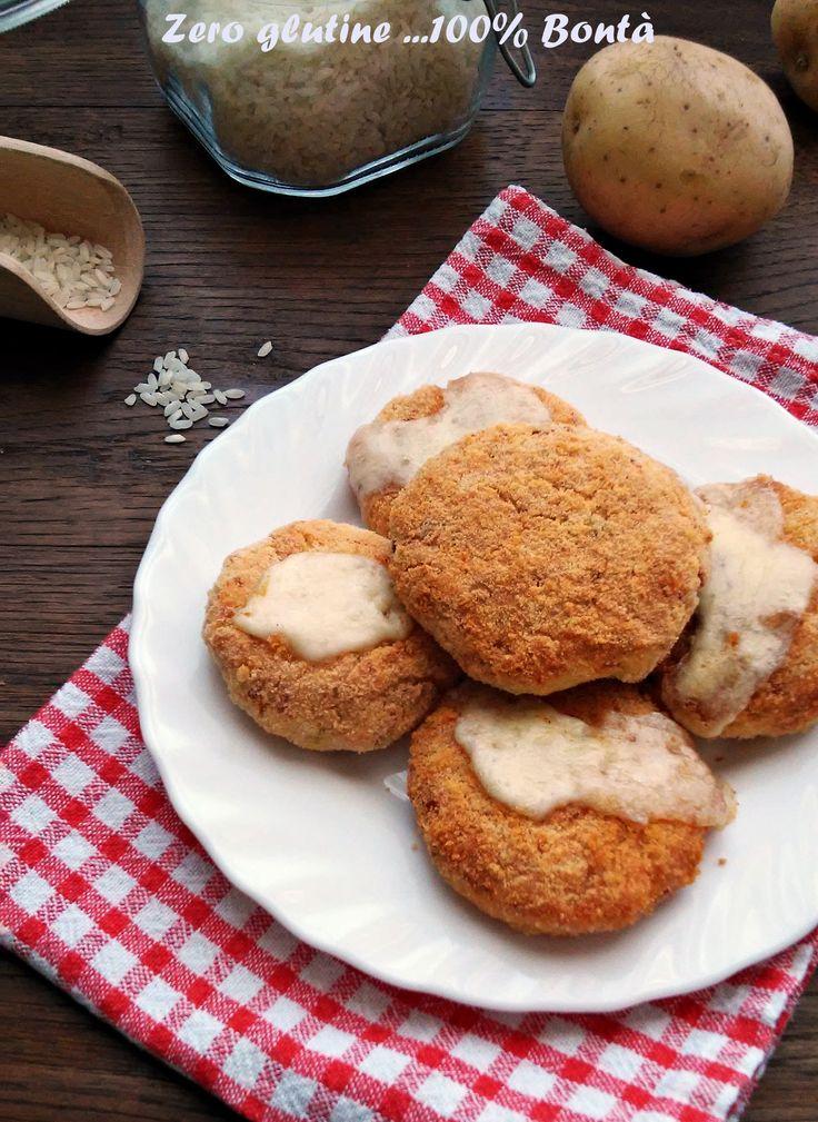 Hamburger di patate e riso