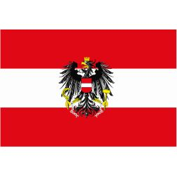 Austrian Flag #austria #europe #flag