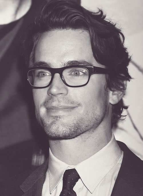 Matt Bomer style with squared glasses! Find more squared glasses at http://www.smartbuyglasses.com/designer-eyeglasses/general/--Wayfarer---------------------                                                                                                                                                      More
