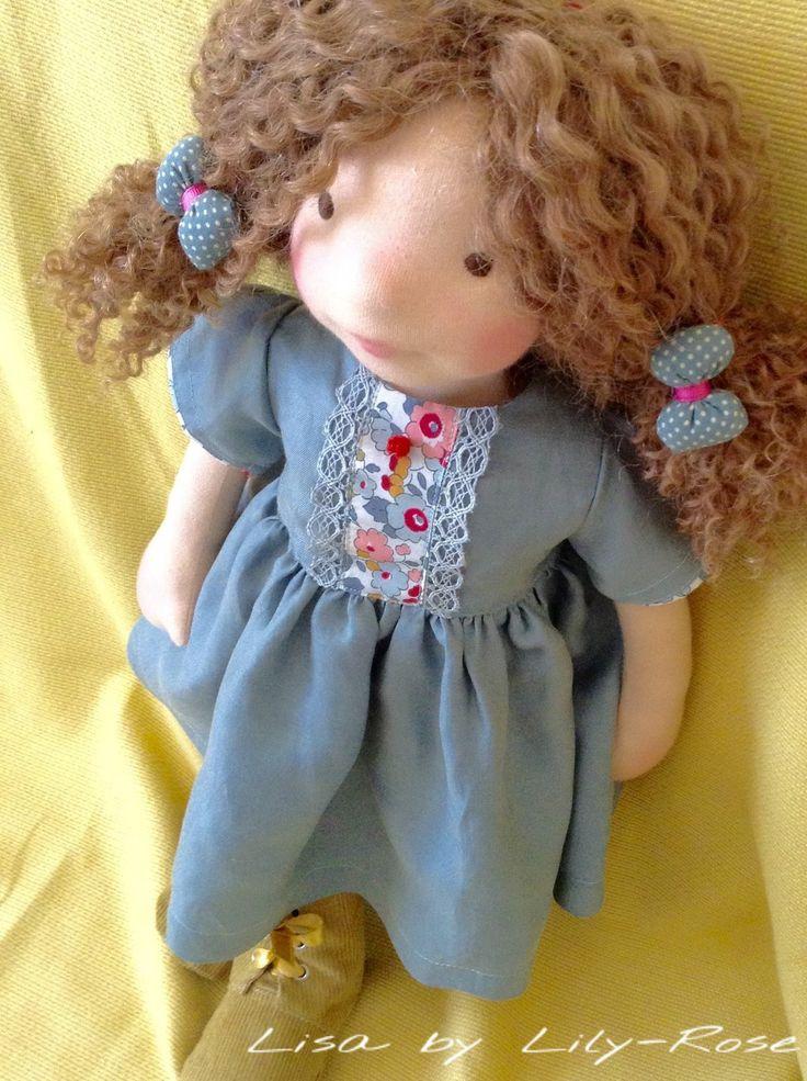 Lisa, poupée waldorff 50 cms : Jeux, jouets par lily-rose-waldorff