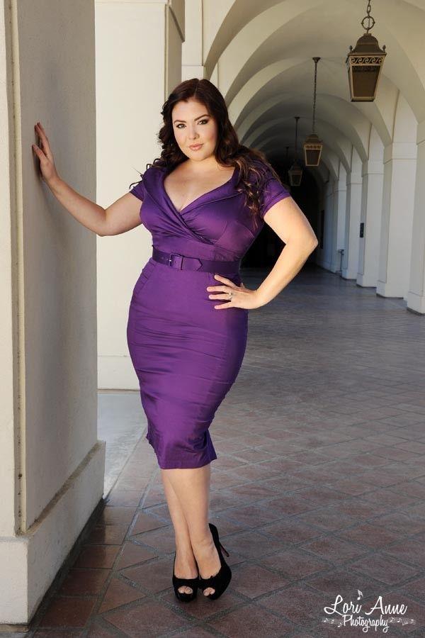 Plus size dress: I am average, but believe plus sized divas are awsome! V