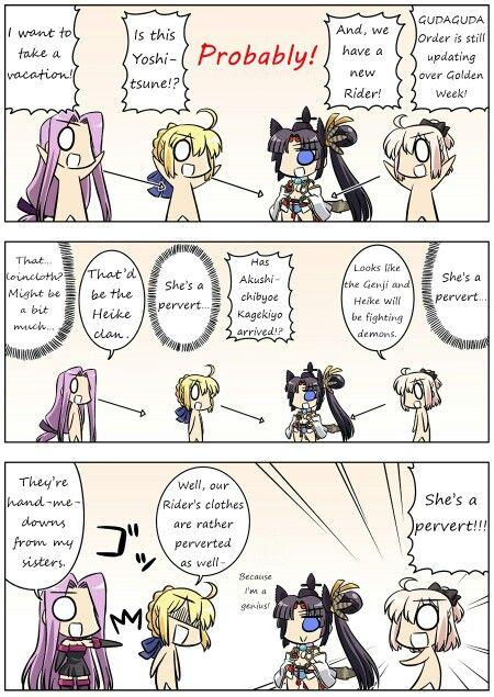 Fate/Gudaguda 15