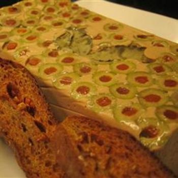 Paleo Tuna Mousse Terrine with Olives