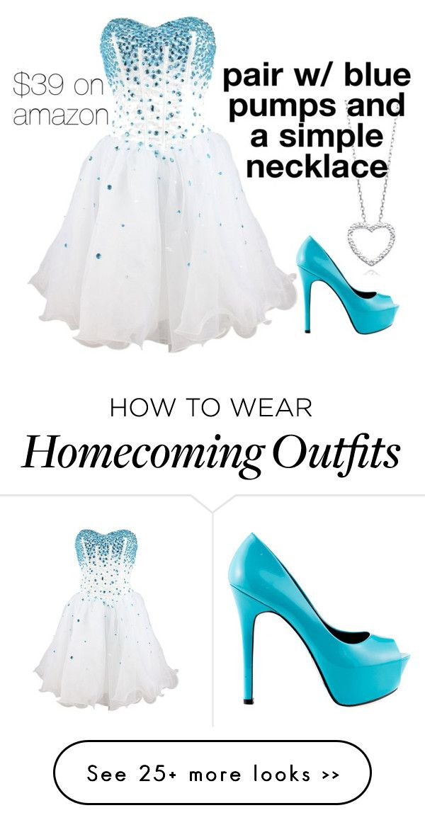 """""""homecoming"""" by kaseyz12 on Polyvore"""