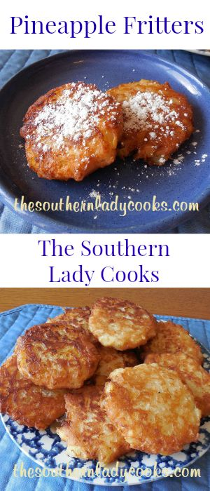 Pineapple fritters and Fritters on Pinterest