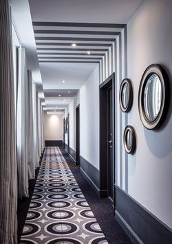 25 best ideas about hotel corridor on pinterest corridor design hotel hallway and hotel door - Hotel cures marines trouville ...