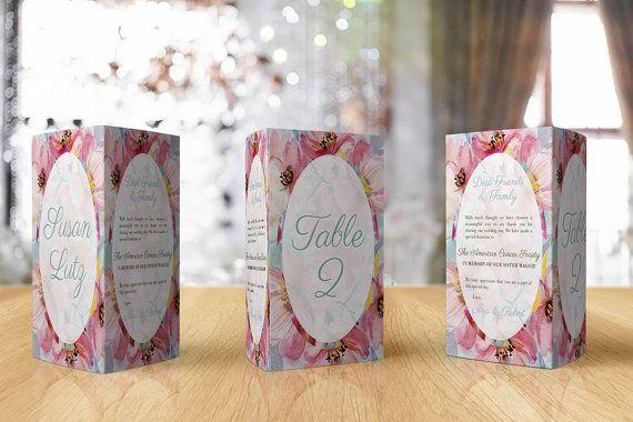 Wedding Table Numbers  Wedding Table Names by GawkVintageStationer