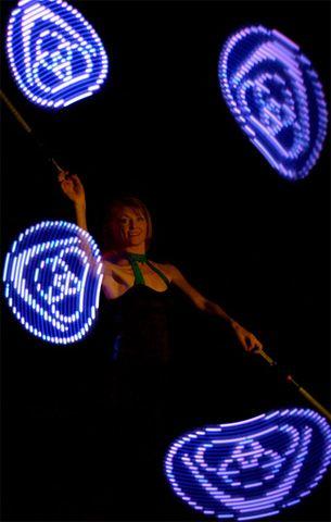 Juggling Light Show http://streets-united.com/blog/pixel-led-light-entertainers/