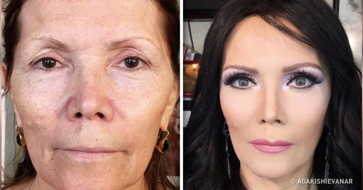 This Stylist From Azerbaijan Makes Women Look Dozens ofYears Younger Using Only Makeup