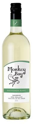New Zealand: MONKEY BAY SAUVIGNON BLANC ~ clean, fresh and approachable. Lovely tropical fruit flavours make it a great wine with chicken and seafood dishes or just to drink on its own. $13.99