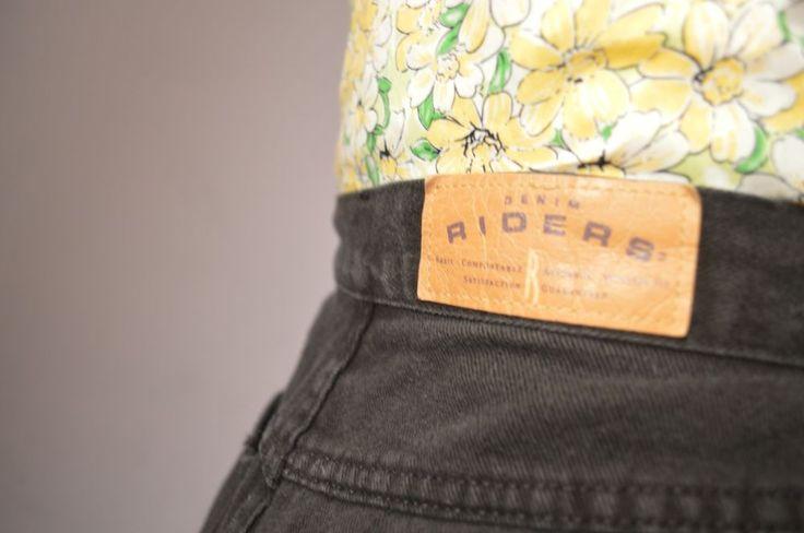 Black Riders Vintage High Waisted Jean Shorts | eBay