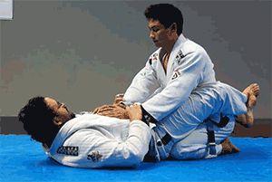 triangle à la volée en jujitsu brésilien : le reflexe à avoir