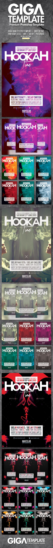 Hookah Smoke Bundle | Stylish Modern Flyer PSD Template - Events #Flyers Download here:  https://graphicriver.net/item/hookah-smoke-bundle-stylish-modern-flyer-psd-template/20093003?ref=alena994