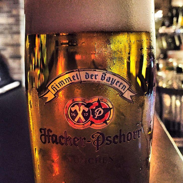 "La ""chiara"" è di Monaco...poche storie  #mosto #hacker #pschorr #bayern #munich #gold #export #hell #lager #beer #beeroftheday"