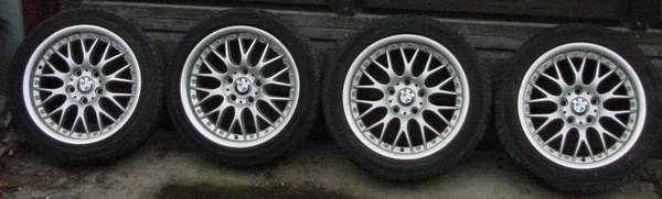 BMW 8 x 17 Aluminum Wheels (4)