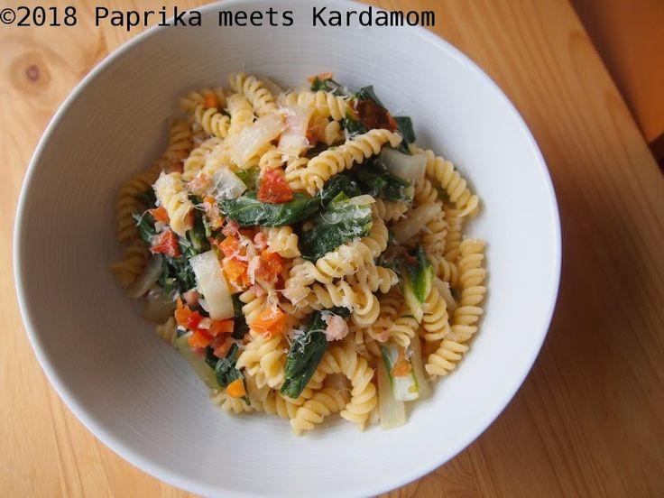 Die kulinarische Weltreise: Italien – Pasta mit Mangold und Speck