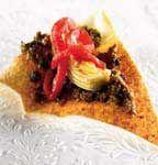 Croustilles de pita aux olives