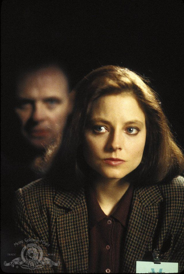 Silence of the Lambs - Anthony Hopkins and Jodie Foster - 1991 - This was the first really scary rated R movie I ever saw without watching it at a friend's house. I loved Jodie Foster!