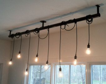 Custom Modern Industrial Pipe Light