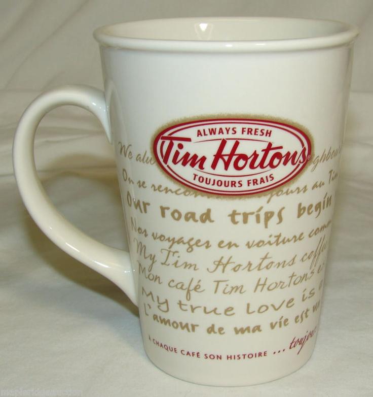 "Tim Horton's Coffee Mug/Cup #9 2009 ""Road Trip"" Limited Edition, Tim Hortons | eBay"