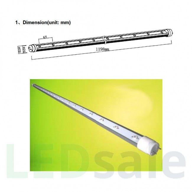 120 cm T8 20W LED vekstlysrør