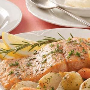 Garlic-Butter+Baked+Salmon