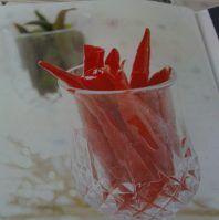 Resep Cara Membuat Manisan Cabe Merah dan Hijau