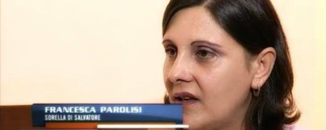 La sorella di Salvatore Parolisi, Francesca, è stata intervistata a La vita in diretta. http://tuttacronaca.wordpress.com/2013/09/24/la-sorella-di-parolisi-sono-convinta-che-mio-fratello-sia-innocente/