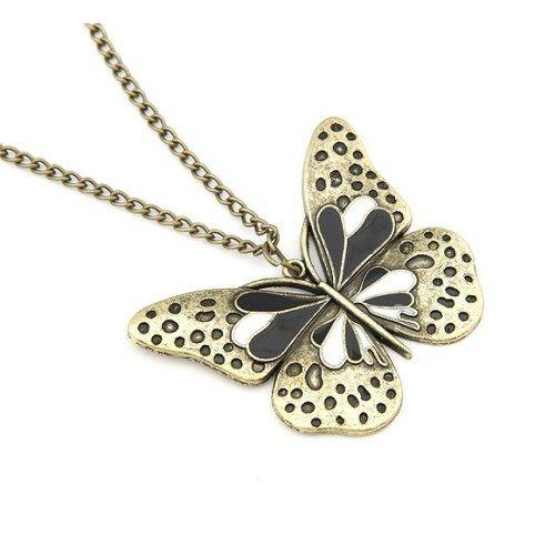 Butterfly Pendant Neckpiece