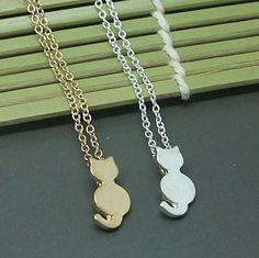 Fine Feline Necklace  -BUY ONE, GET ONE FREE-