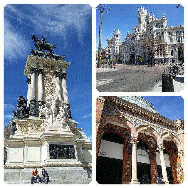 #turismo #viaggiare #travelling #spain #città #spagnola #city #capital #buildings #architettura #architecture #Moldiv