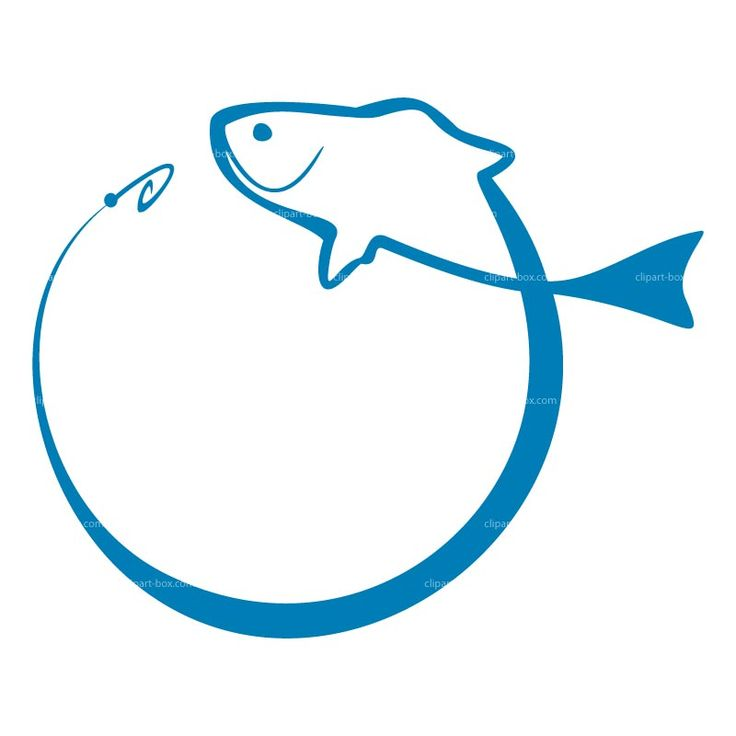 blue fish with lure clip art | fishing-icon130307.jpg