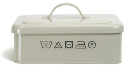 from bklyncontessa :: via a place for everything :: Washing Powder / Dishwasher Tablet Storage BoxStorage Boxes, Powder Storage, Laundry Storage, Dishwashers Tablet, Storage System, Home Storage, Wash Powder, Tablet Storage, Products