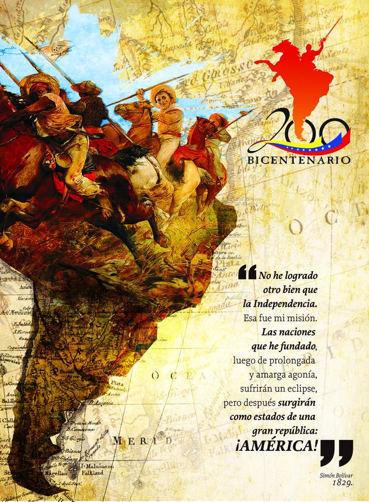 Bicentenario de la independencia de América Latina