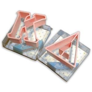 Greek Letter Cookie Cutters