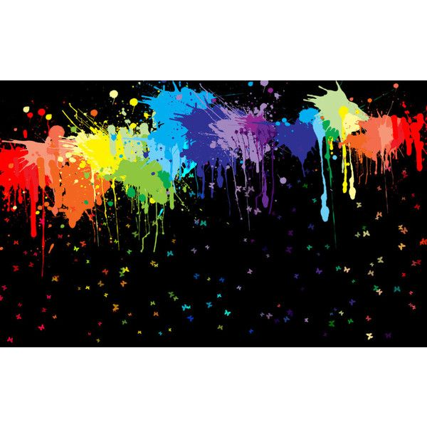 Colorful Paint Splatter Background Images 6 HD Wallpapers ❤ liked on Polyvore featuring backgrounds, pictures, art, other and random