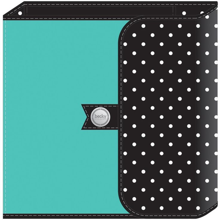 Scrapbookdepot - Project Life D-Ring Planner Album 6x8inch