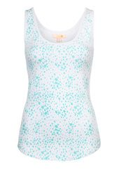 Sea Spray Cami - Aqua $49.00  #fitfashion #ootd #flatlay #new #justarrived #borellidesign #blsportswear #wellicious #borellidesign #yoga #pilates #gym #barre #hiit #circuit #younameit #fireandshine