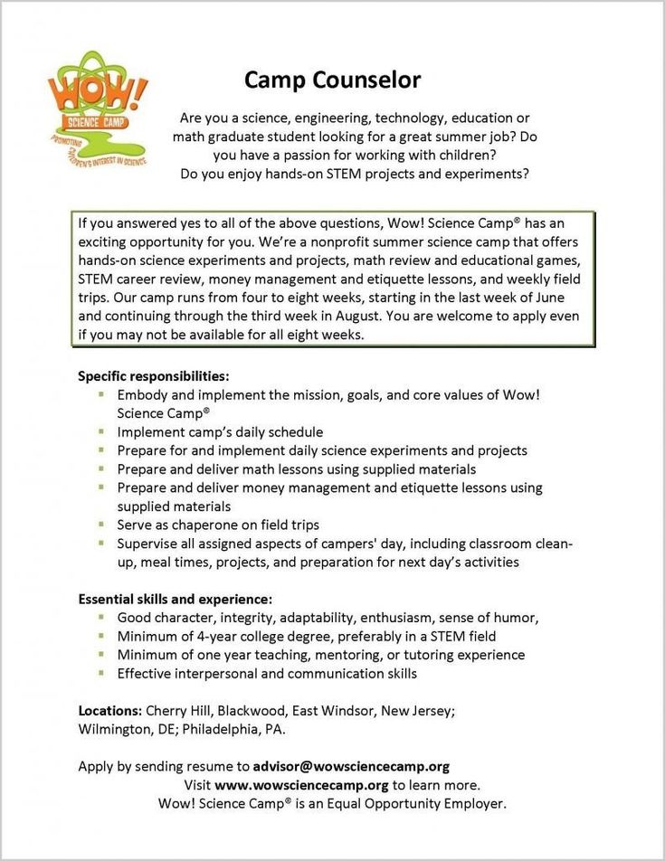 Summer Camp Counselor Resume Beautiful Resume Writing Business Plan In 2020 Elementary Guidance Lessons Counselor Job Description Guidance Lessons