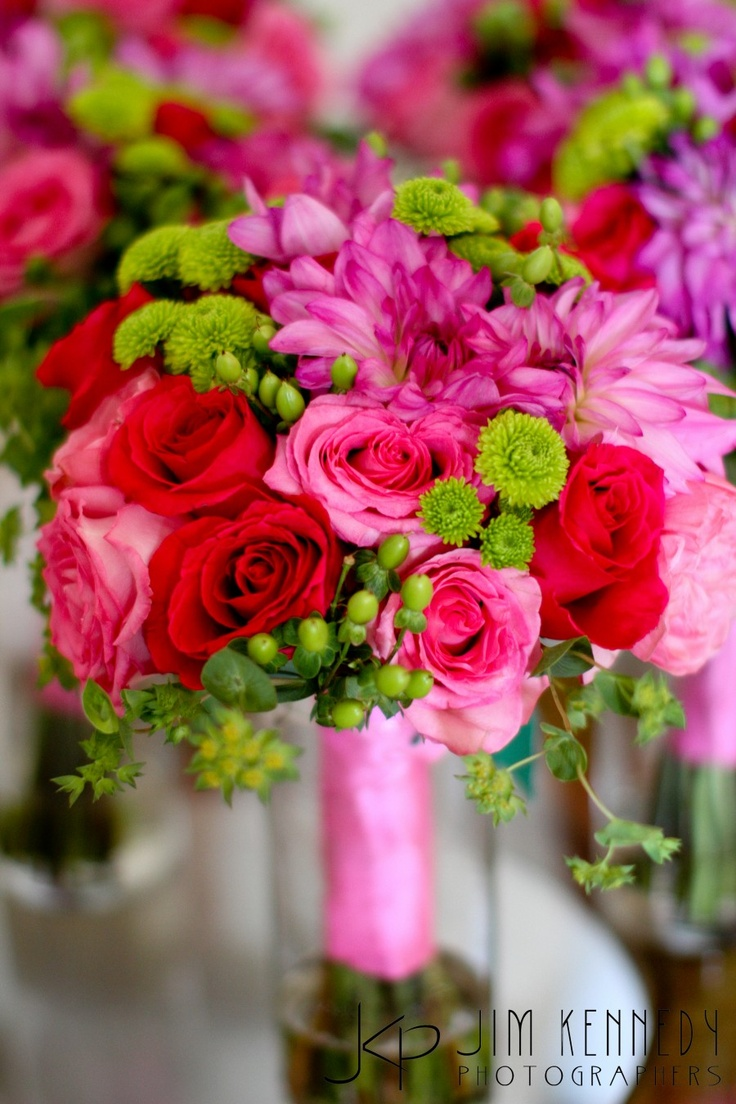 23 best Red, pink, green and orange for FALL wedding images on ...