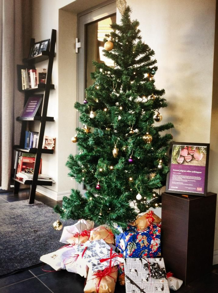 Christmas Tree at Clarion Majoren https://www.nordicchoicehotels.no/clarion-collection/clarion-collection-hotel-majoren/