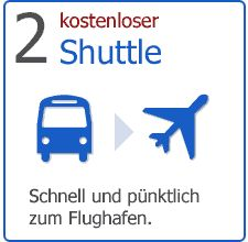 Shuttle im Preis inklusive