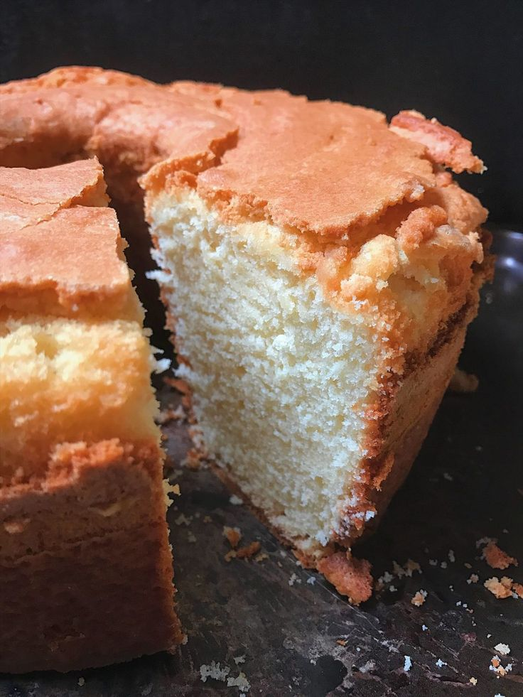 I have the urge to start this post by saying hey, y'all. I know, so cliche but it's truly how most of us southerners great each other. Another reason why I wanted to say hey y'all was because this post is about one of the most storied cakes related to the south and that's the old fashioned pound cake. Not a bundt cake, but a pound cake made with 1/2 pound of butter and baked in a tube pan. The real deal, legit pound cake. I'm sure you're wondering why I am sharing a pound cake recipe the…