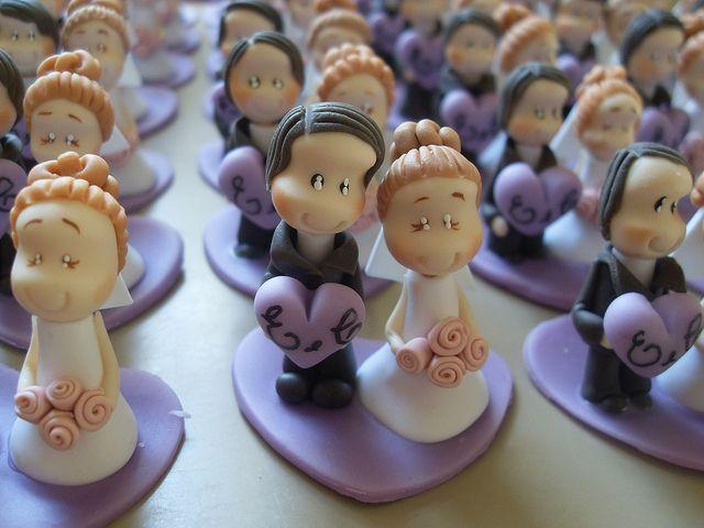 """*COLD PORCELAIN ~ Lembrancinhas de casamento by """"DAI DUART´S"""", via Flickr"""